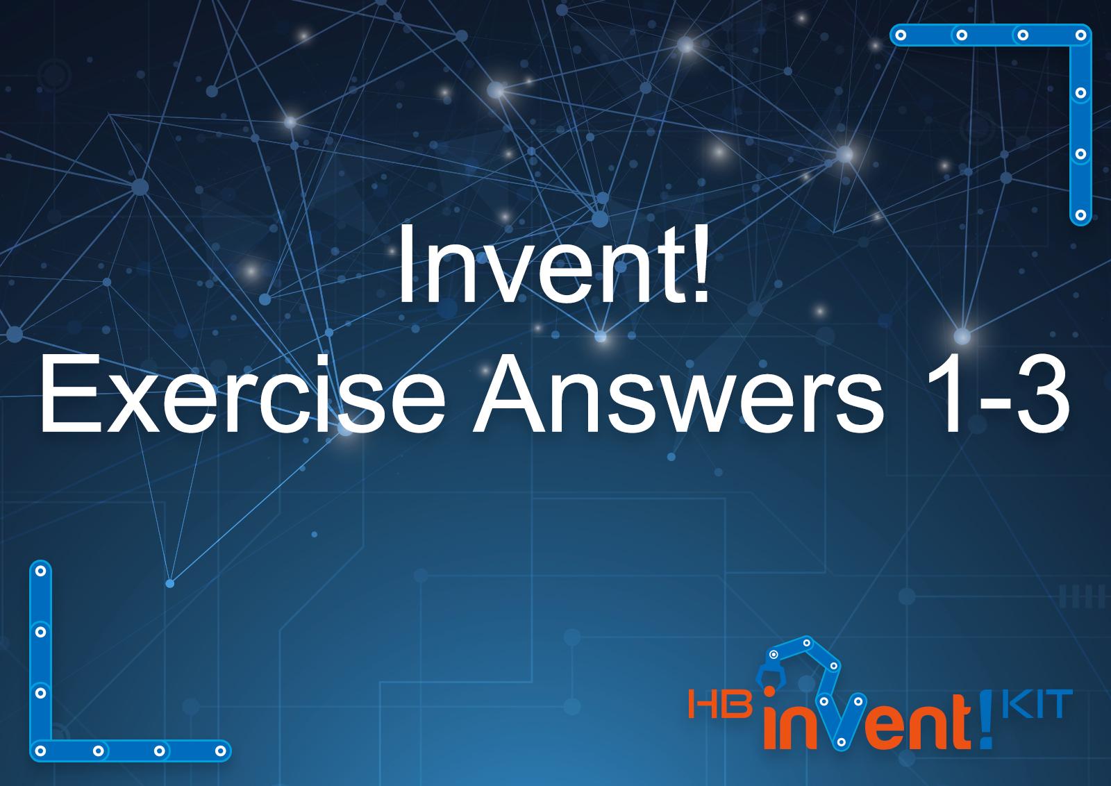 invent lesson 1 answer